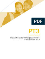 W1 MES PT3 Instructions to Writing Examiners V3