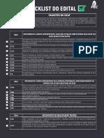 Checklist - Credenciamento Caixa