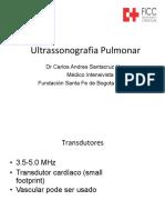USG Pulmonar