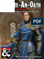 Create-An-Oath a Paladin Oath Creation Guide