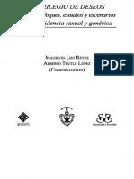 Mauricio List Reyes y Alberto Teutle López (Coords.) - Florilegio de Deseos - Nuevos Enfoques, Estudios y Escenarios de La Disidencia Sexual y Genérica
