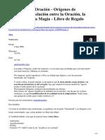 Tratado de La Oración. Nico Burbuja.info