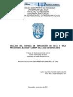 analisis de separacion de gas