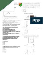 Evaluación Final Period 1 Fisica 11