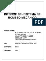 INFORME SISTEMA DE BOMBEO MECÁNICO-1.docx
