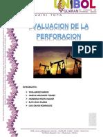 PERFORACION EVALUACION DE LA PERFORACION.docx