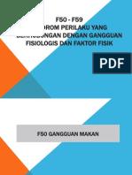 F5 Sindrom Perilaku Yg Berhubungan Dgn Gangguan Fisiologis & Faktor Fisik -Annisa Nurhayati