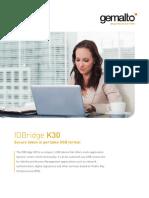 Idbridge k30 Solution Brief