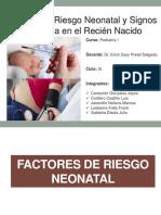 3-Factores de Riesgo y Signos de Alarma en El RN