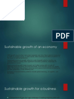 Sustainabilty Growth
