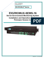 Enviromux Sems 16 Specifications