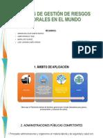 Modelos de Gestión de Riesgos Laborales en El
