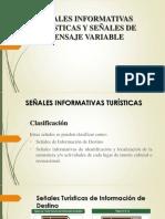 Señales Informativas Turísticas y Señales de Mensaje Variable Diapositivas