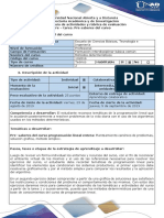 Guia de Actividades y Rúbrica de Evaluación - Pre - Tarea. Pre Saberes Del Curso (1)
