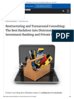Restructuring and Turnaround Consulting_ Recruiting, Job, Comp, Exits