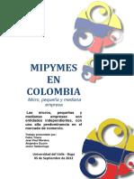 Mipymes en Colombia