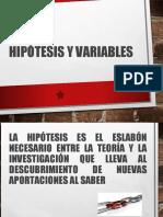 Unidad 3.1 Hipotesis y Varibles