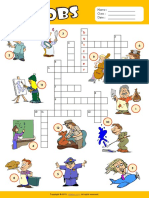 jobs esl vocabulary crossword puzzle worksheet for kids.pdf