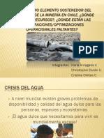 Agua Como Sostenedor de La Mineria