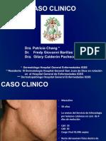 Caso clínico dermatologico