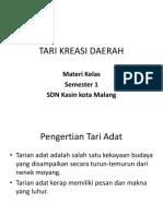 Tari Kreasi Daerah