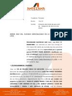 Ejecucion de Odsd - Cte. Ramos