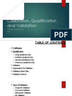 Calibration_Qualification and Validation