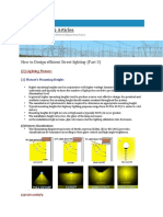 How to Design Efficient Street Lighting-(Part-3)
