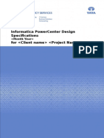 Informatica PowerCenter Design Specifications SDS Template.doc