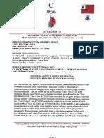 Sheriff's Letter Reg Violations & International War Crimes
