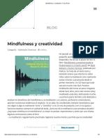(Franc Ponti), Mindfulness y Creatividad