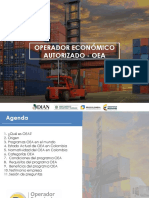 OEA - operador economco autorizado