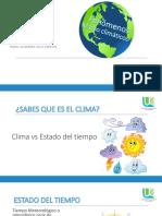 Expocicion de Clima