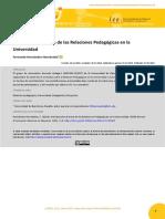 Introducción al tema de las Relaciones Pedagógicas en la Universidad Introducción al tema de las Relaciones Pedagógicas en la Universidad