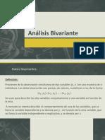 Análisis Bivariante