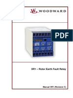 XR1 – Rotor Earth Fault Relay