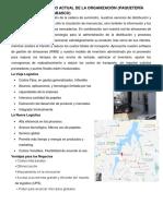 Actual de La Organización (Paquetería Ups Villahermosa Tabasco)