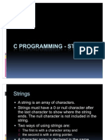 C Programming - Strings