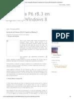 Primavera P6 r8.3 en Español, Windows 8_ Instalación de Primavera P6 r8.3 Español en Windows 8