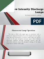 2 - Low Intensity Discharge Lamps Part 1