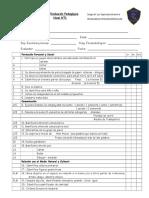 pauta evaluaci+¦n pedagogica de ingreso