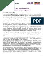[Artículo] Junta Nacional de Justicia ¿Meritocracia versus paridad?
