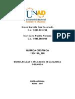 Unidad 3- Biomoléculas y Aplicación de La Quimica Organica (1)