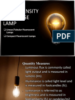 2 - Low Intensity Discharge Lamps Part 3