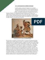 Causas de La Expansion Del Imperio Romano