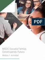 Escuela Familia.  Construyendo Futuro