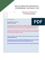 Libro de Medicina Ortomolecular Por Sintomas 1ra Edicion 1ra. Actualizacion