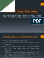 Database Design and Linking