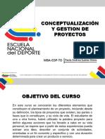 Conceptualización y Gestión de Proyectos Clase 1 To