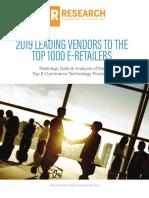 2019 Internet Retailer Leading Vendors Report